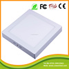 1600 high lumen 90PCS high quality LED CE ROHS 18W lamp SMD2835 surface mounted square led ceiling panel lights