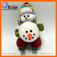 CHRISTMAS LOVELY SNOWMAN WITH A SNOWBALL