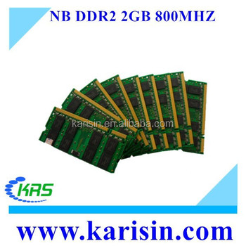 Hot sales in brasil ETT chips 2gb ddr2 graphics card 800 sodimm ram