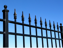 wrought iron fence finials/spears/fittings(ISO Factory)