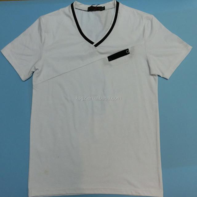 2018 lasted t shirts men's t-shirts fashion white t shirts