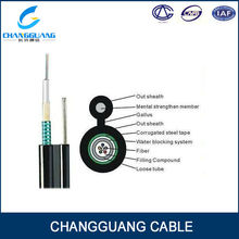 High Quality Cable Making Equipment 8 Font Self-supporting Outdoor 48 Core Fiber Optic Cable