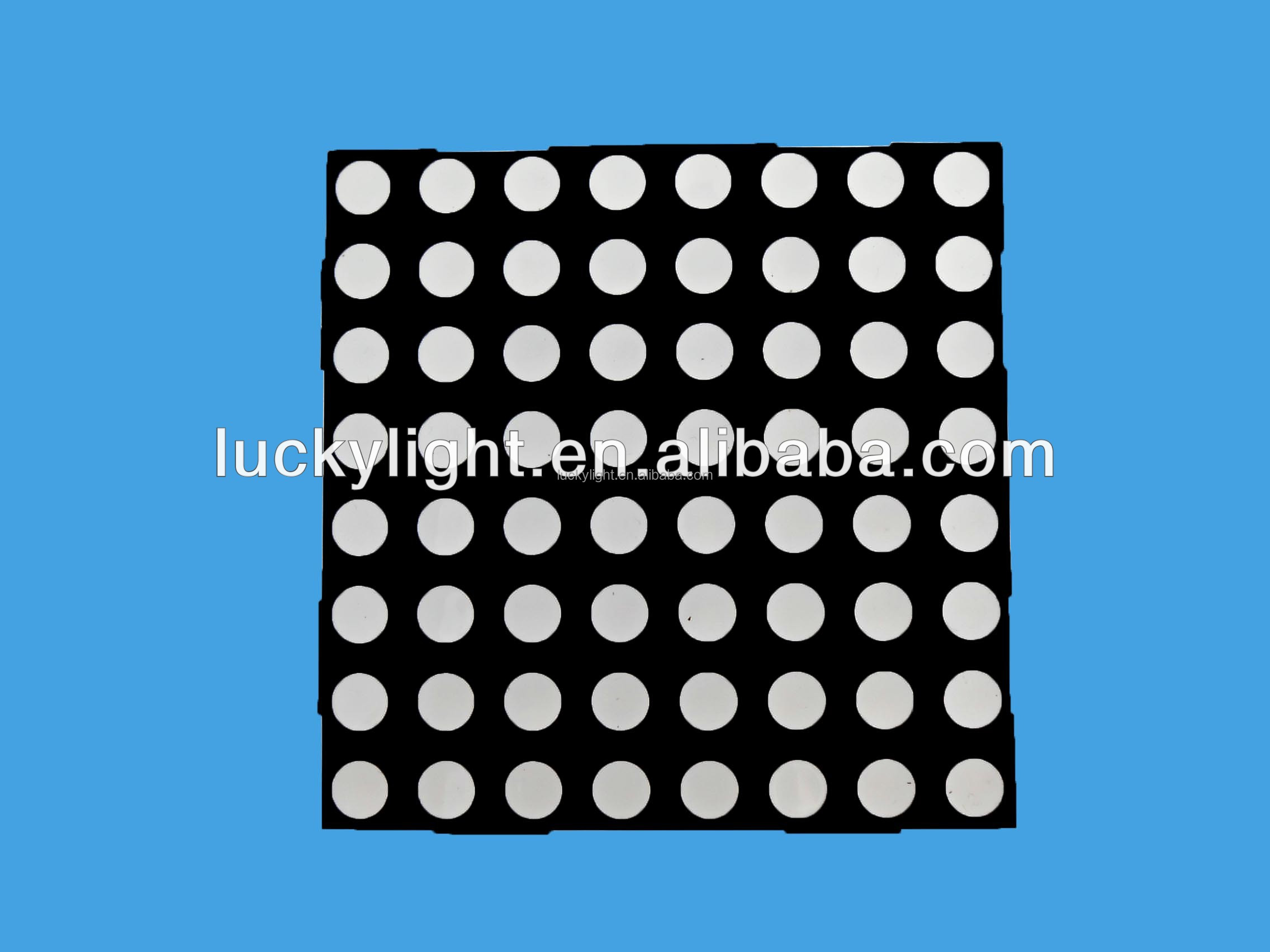 7.62mm Red Color smd Dot Matrix LED Display, hot new products for 2015, indoor vedio display/panel/screen