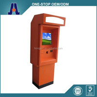 Outdoor Electronic Payment Terminal Kiosk With Cash Dispeser HJL-9005