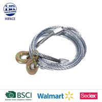 Emergency car truck steel winch rope