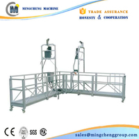 Supply electric lifting winches/ cradle/ gondola/ window cleaning equipment/swing stage/sky climber/india suspended platform