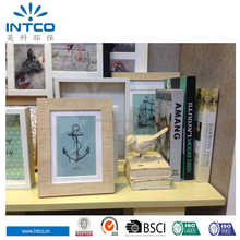 Intco 2015 European new arrival design waterproof wood picture frame