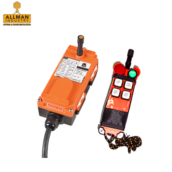 TELECRANE TELECONTROL F21 F24 single speed or dual speed wireless control for crane