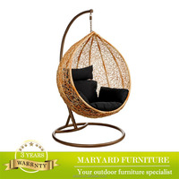 Leisure garden furniture rattan balcony swing chair