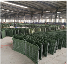 Army Wall MIL Hesco Bastion Barrier Sand Wall Military Hesco Flood Barriers Prices For Sale