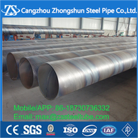 Carbon steel/ Seamless steel SSAW Steel Pipe with High Quality and Competitive Price