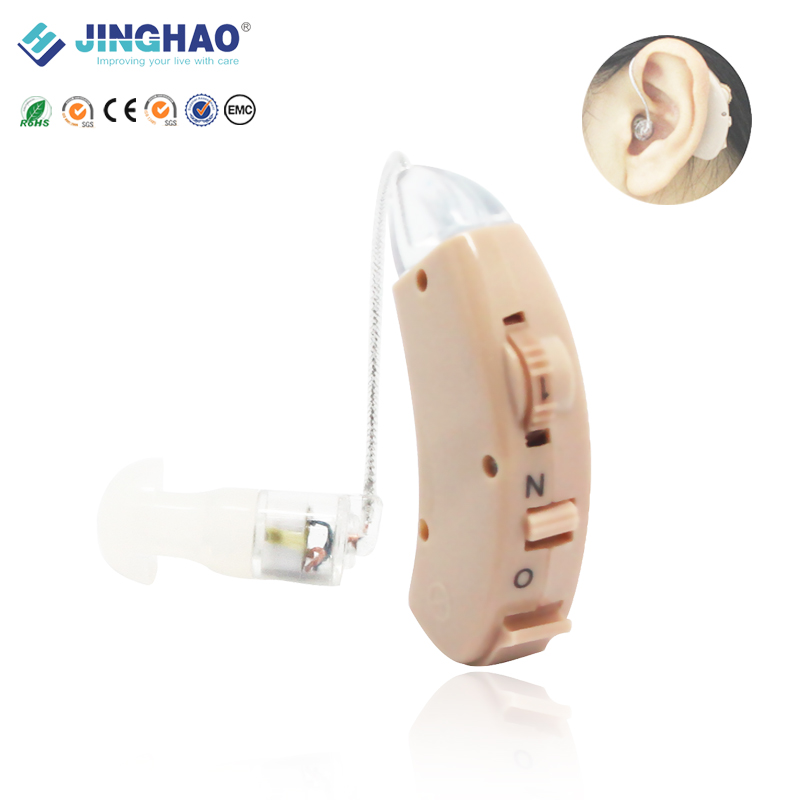 China Manufacture FDA CE RoHS AG5 Battery BTE Analog Sound Amplifier Hearing Aid For Hearing Loss