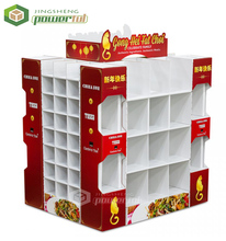 Retail Festival Products Paper corrugated Floor Cardboard Pallet Display