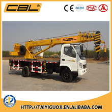 2016 new truck mounted mobile crane 10Ton with T-king chassis