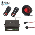 Long transmitting range car alarm system with auto central lock
