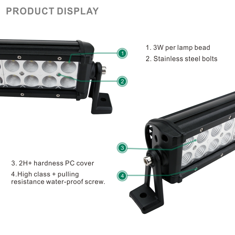 Auto accessories 4X4 atv utv 120w 22inch led lights bars off road