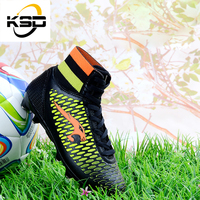 2016New style outdoor awn boots football for kids with comfortable soccer shoes