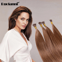 100% Brazilian new product remy I-tip hair good quality for black women