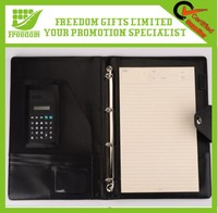 Promotional Gifts Logo Printed A4/A5 Notebook Calculator
