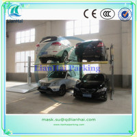 CE two post mini lifting parking car lift/car lifting parking system