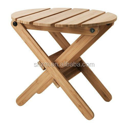 Modern Bamboo Indoor Folding Plant Stand For Houseware