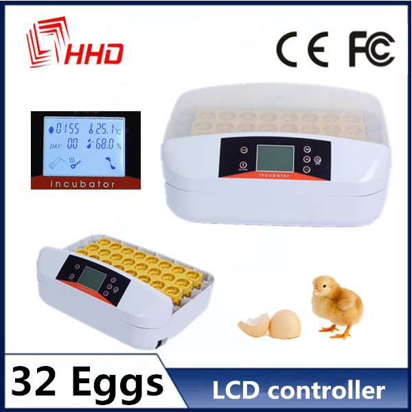 HHD poultry equipment with laboratory incubator for sale 32 eggs EW-32S