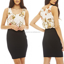 latest dress designs photos 2 piece office pencil dress