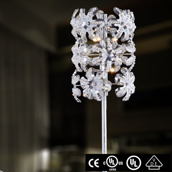 modern chrome replica flos gun shape lounge floor lamp