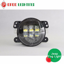 2015 hot 4x4 accessories round 4 inch car led fog light for jeep motorcycle