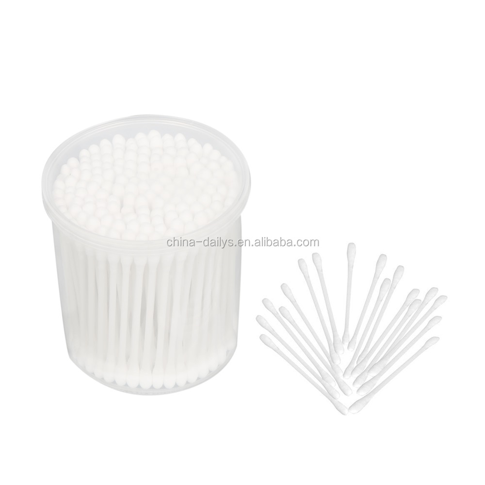 makeup plastic stick cotton bud