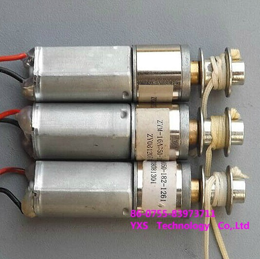 Full metal gear motor with reel Technology Model Making 12V send wrench