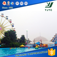 Big Metal Frame Outdoor Swimming Pool For Amusement For Amusement
