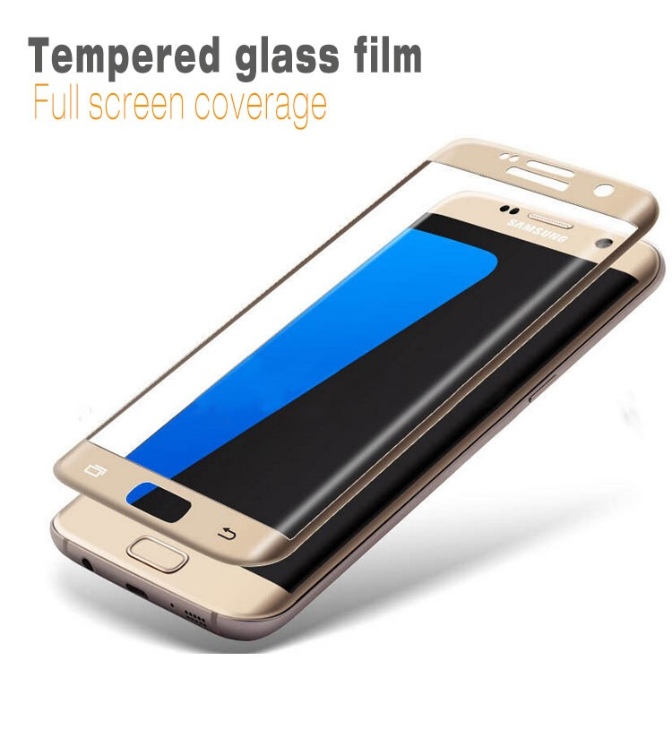 PLK Mobile Accessories Distributors Used Mobile Phones Anti Explosive Alloy Glass Screen Protector for Samsung s7 Edge