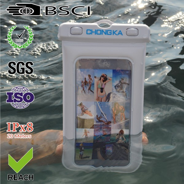 Best selling pvc waterproof case for nokia lumia 1020 with ipx8 certificate