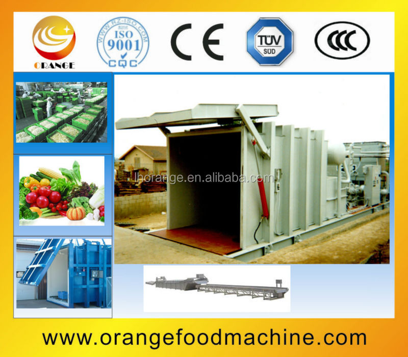 ORMC-01 Vegetable Pre-cooling Production Line /automatic production line