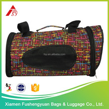 Hot sale top quality best price 600D polyester pet carriers big mesh pet bags / pet cage