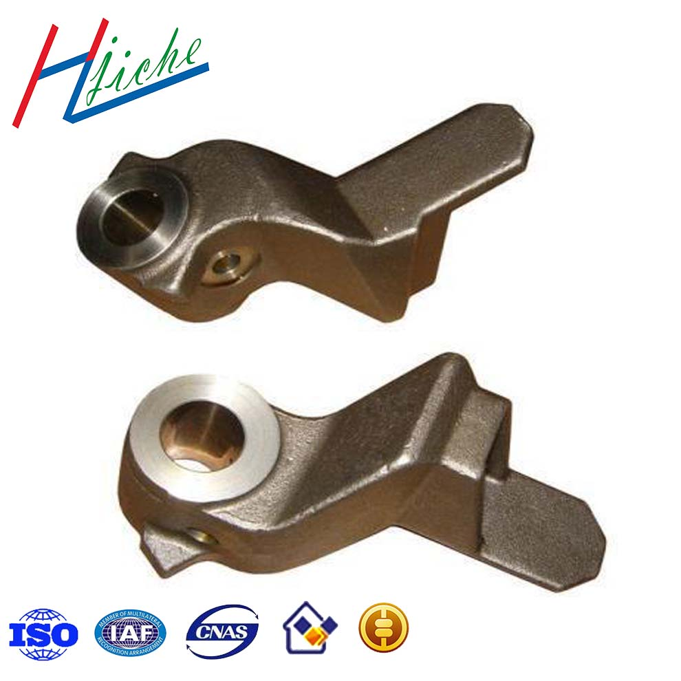 Steel iron and other metal investment die casting parts for machinery and railway