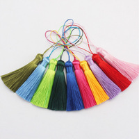 handmade fashion 8cm colorful decorative polyester tassel