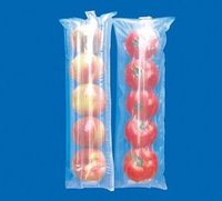 plastic grape and cherry bags