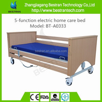 BT-AE033 medical home care beds, five functions electric nursing beds