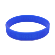 High Quality Debossed Color Filled Silicone Handband with Customized Logo
