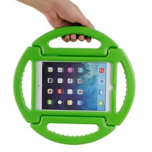 RoundWheel Handheld Shockproof Shell Case for Apple iPad Mini 1 2