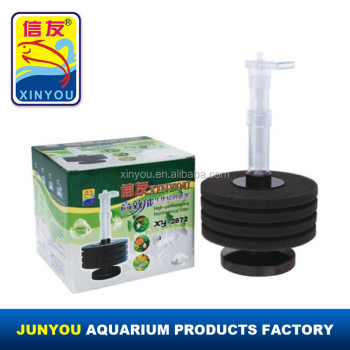 Hot sale XINYOU aquarium filter, sponge filter XY2872, filter media