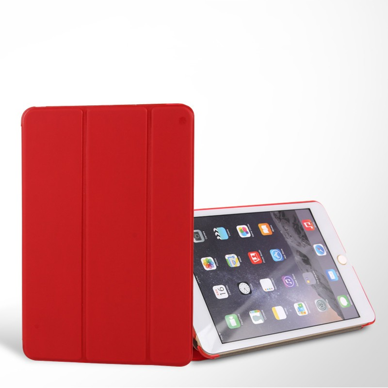Retail Smart Folder Smart Leather case PU Cover Smart Case For iPad Air
