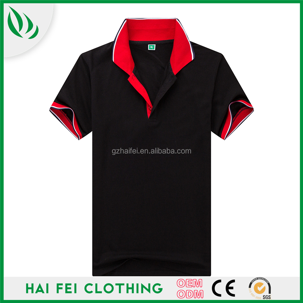 China Supplier Haifei Clothing Hot Sale Sample Free Promotional Polo