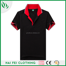China supplier Haifei Clothing hot sale sample free promotional polo shirt