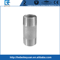 "Male Threaded Stainless Steel SS 304 Pipe Fittings 100MM Length 1/4"" DN8 3/8"" DN10 1/2"" DN15 3/4"" DN20 1"" DN25 1-1/4"" DN32"
