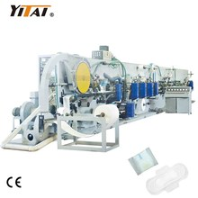 Full Servo Full Automatic Lady Disposable Sanitary Towel Machine, Sanitary Towel Production lIne with Factory Price in China