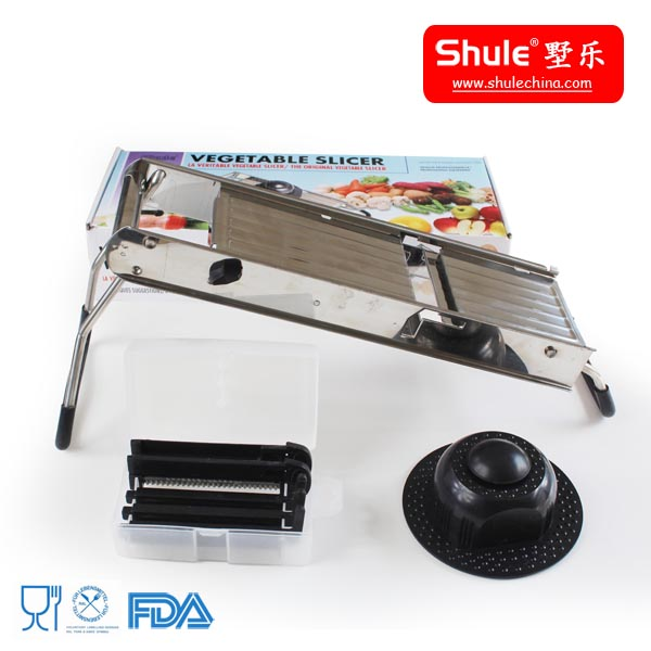 China S/S hand operation different shapes fruits and vegetables cutter for home use