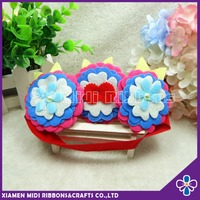 1 year old baby girl soft flower elastic headbands wholesale